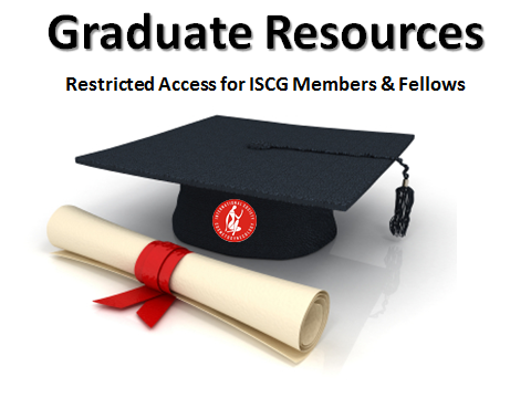 Click here for access to ISCG Members Only educational resources